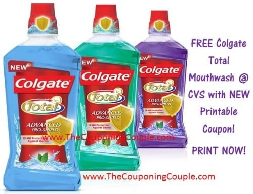Free printable coupons act mouthwash