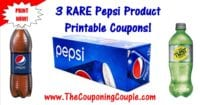 Pepsi Products Printable Coupons