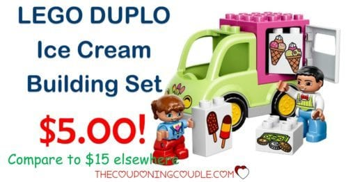 LEGO DUPLO Ice Cream Building Set