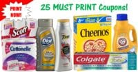 25 MOST Popular Printable Coupons