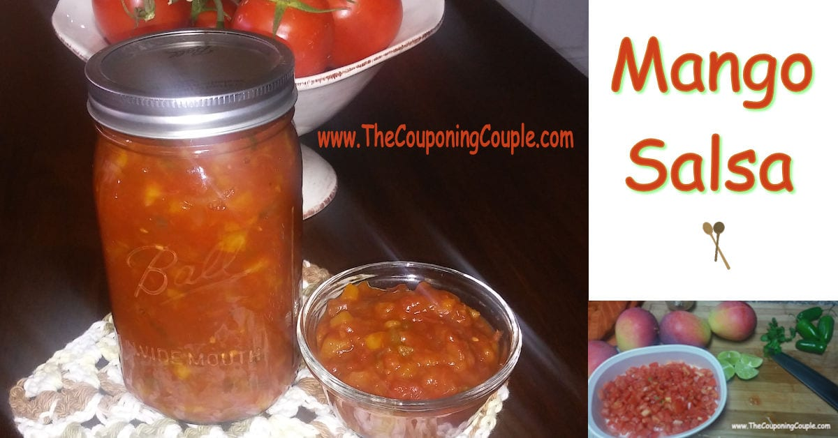 Mango salsa recipe delicious with chips meat fish or for Mango salsa recipe for fish