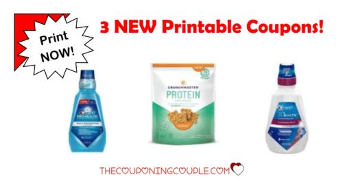 3 new printable coupons