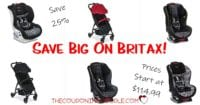 HURRY! Big Savings on Britax Car Seats and Strollers! Get 30% in Savings!