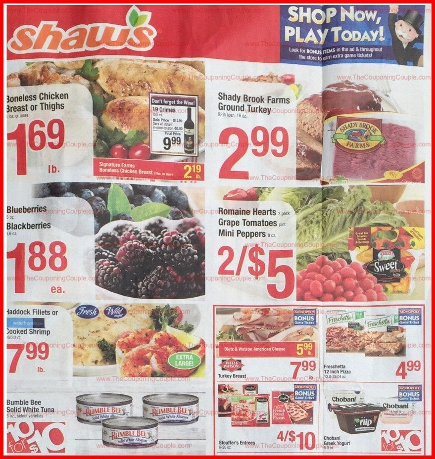 Shaws Flyer 2/16/18 - 2/22/18
