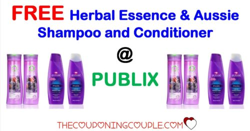 FREE Herbal Essences & Aussie Shampoo and Conditioner @ PUBLIX