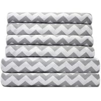 Sweet Home Collection Quality Deep Pocket Bed Sheet Set-2 Extra Pillow Cases, $21.99 OR LESS - All Sizes!