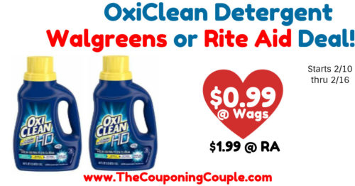 Cheap Oxiclean HD Laundry Detergent