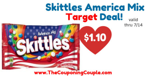 Nice Deal on Skittles America Mix