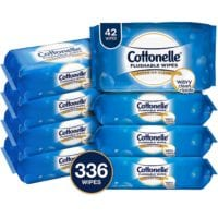 Cottonelle FreshCare Flushable Cleansing Cloths- 8 Packs of 42= $9.55 Shipped!