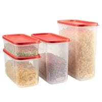 Rubbermaid Modular Food Storage Canisters, 8-Piece Set ONLY $12.62