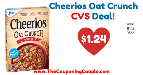 Cheap Deal on Cheerios Oat Crunch Cereal