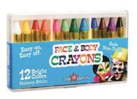 12 Safe & Non-Toxic Face and Body Crayons - Halloween Makeup ONLY $7.98!