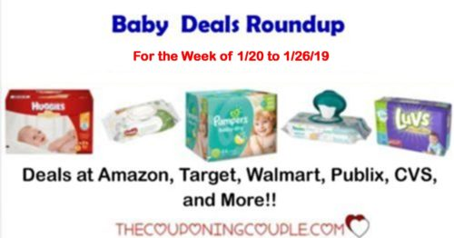 Baby Deals Roundup for the week of 1-20